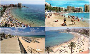 Достопримечательности Торревьехи: подборка пляжей