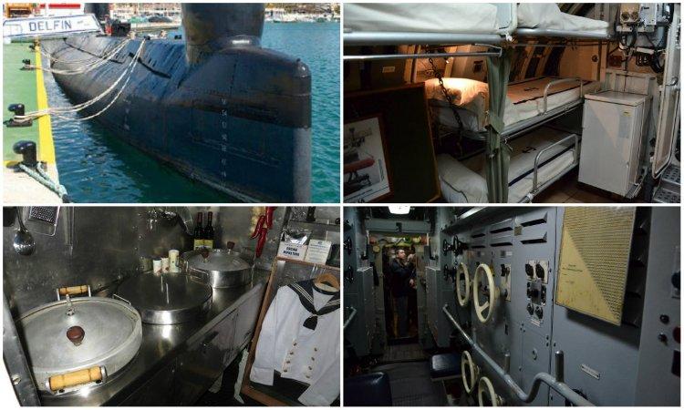Музей в подводной лодке S-61