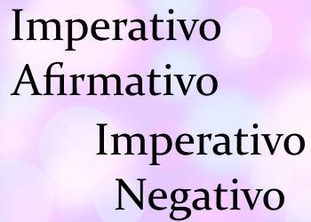 Imperativo (повелительное наклонение): правила + 4 онлайн теста