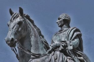 Статуя Карла III