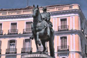 Статуя Карла III в Мадриде