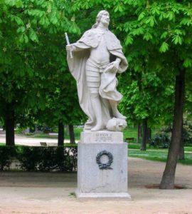 Статуя Альфонсо I Воителя: короля Арагона (XII век)