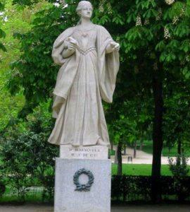Статуя Беренгарии Кастильской: королева Кастилии и Толедо (XIII век)