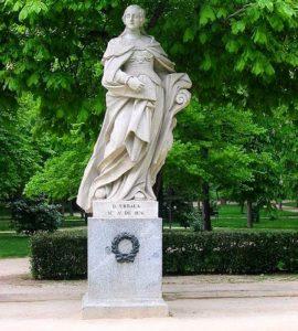 Статуя Урраки Кастильской: королева Кастилии и Леона (XII век)