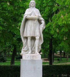 Статуя Гарсии I: первый король Леона (X век)