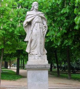 Статуя Гундемара: короля вестготов (VI век)