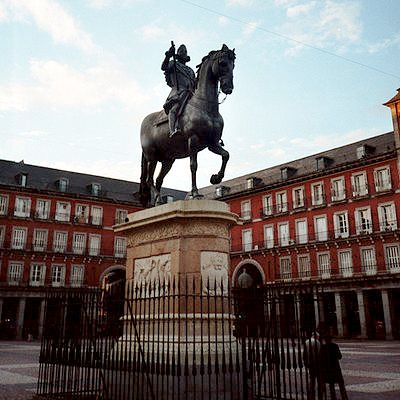 Бронзовая статуя Филиппа III