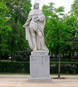 Статуя Рамона Беренгер IV: граф Барселоны, Осоны, Жироны и Сердани (XII век)