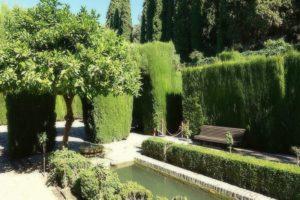 Сады Хенералифе в Гранаде