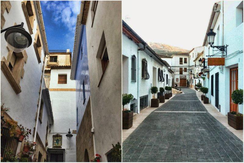 Деревня Гуадалест