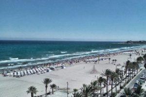 Пляж Постигет