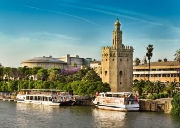 Торре-дель-Оров Севилье – золотая башня в столице Андалусии