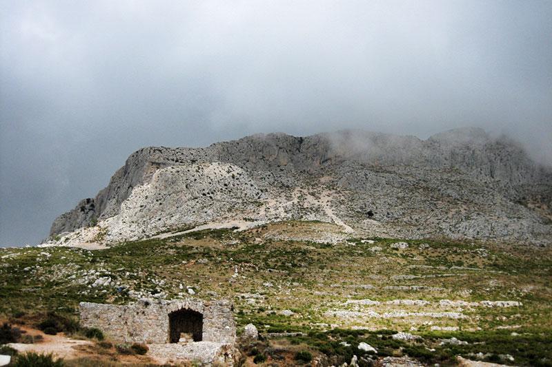 Руины Форта де Берниа