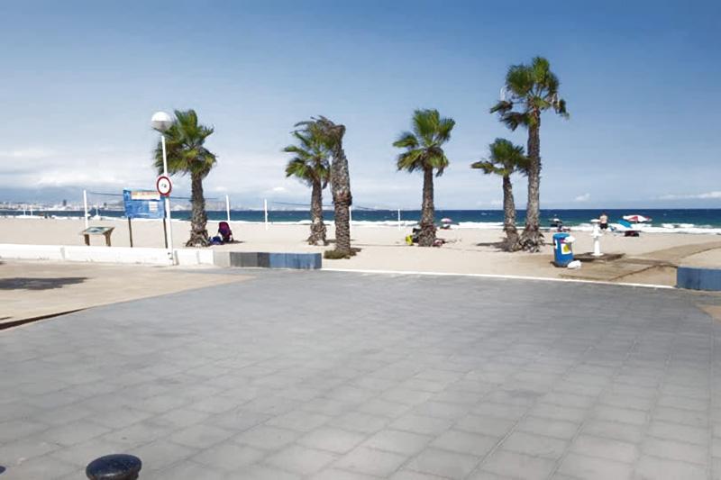 Пляж Лос Саладарес