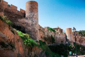 Крепость Вила Велья в Тосса-де-Мар