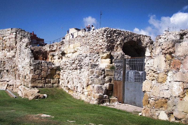 Римские стены Таррагоны