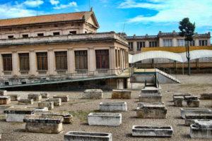 Раннехристианский некрополь