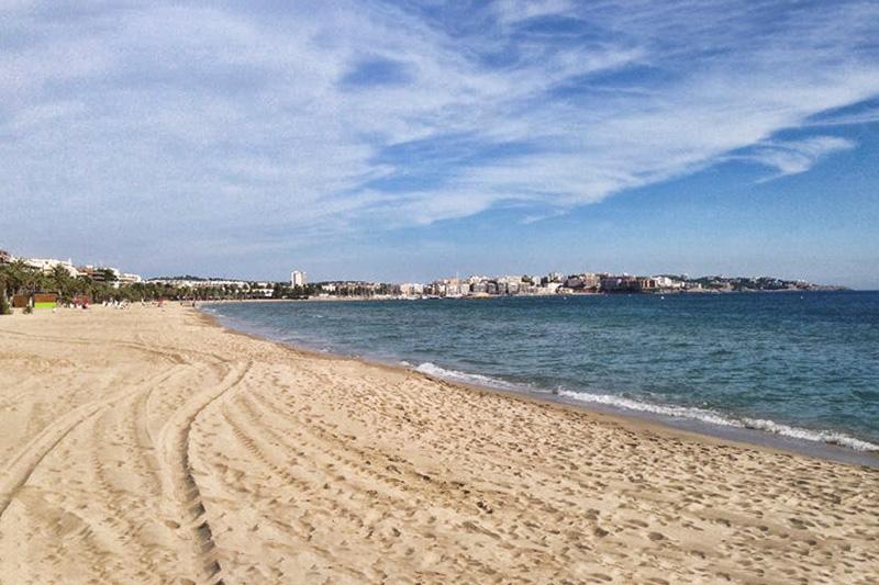 Пляж Понент в Салоу