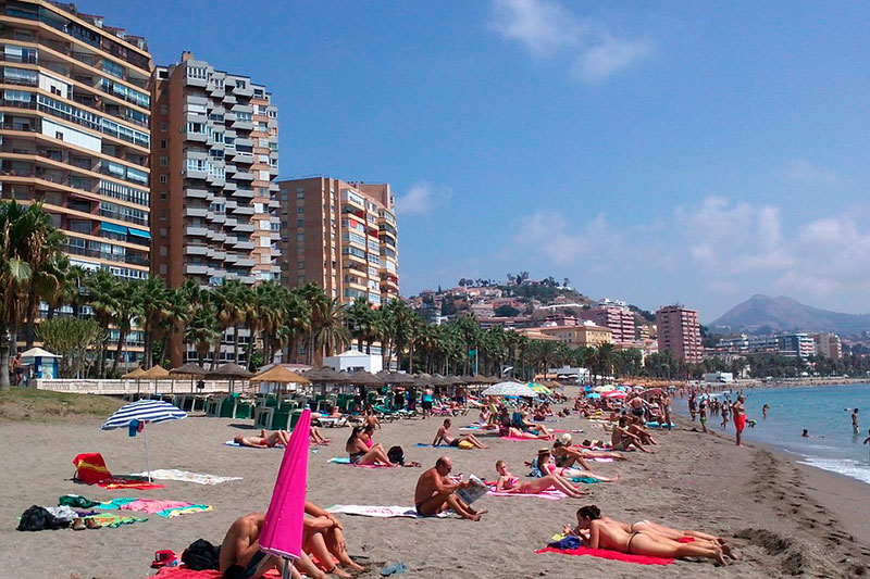 Пляж Ла Малагета